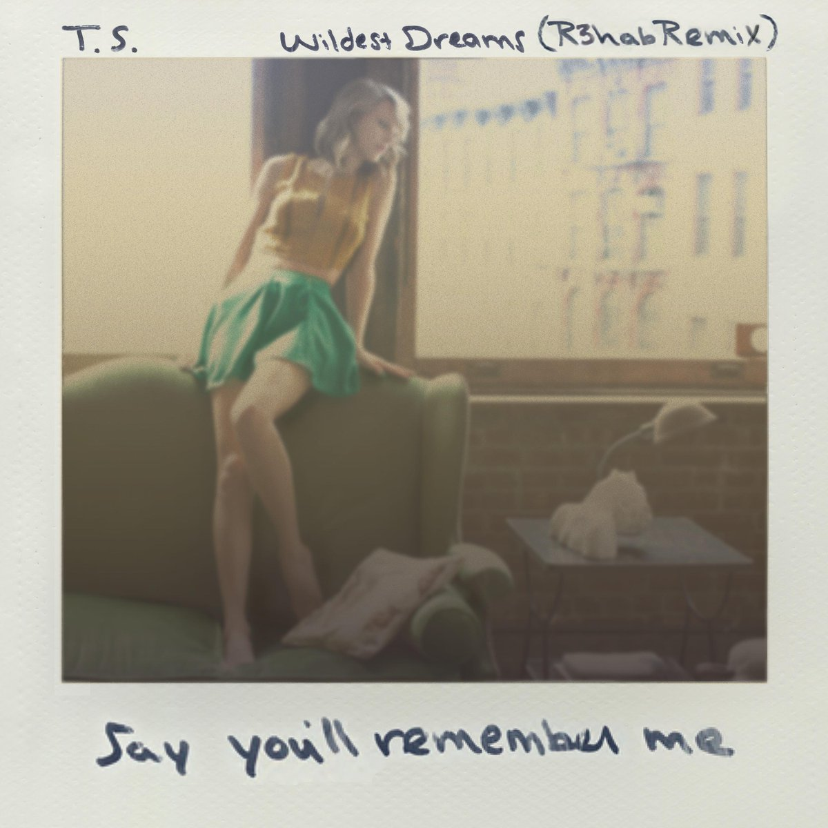 You rock @taylorswift13 it was an honour remixing #WildestDreams http://t.co/IYgAnsj9NB http://t.co/J9GN0QFVpq