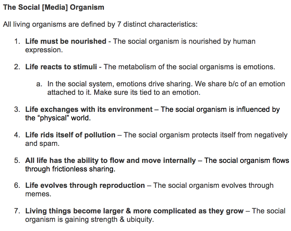 Absolutely love the idea about #socialmedia as a living organism! @revilopark #mimasummit http://t.co/WQDTFrbR9R