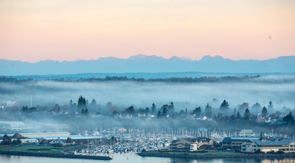 You're looking great this morning, @PortBellingham. #theviewfromWWU #bellinghome http://t.co/SdjOqtq2Sw