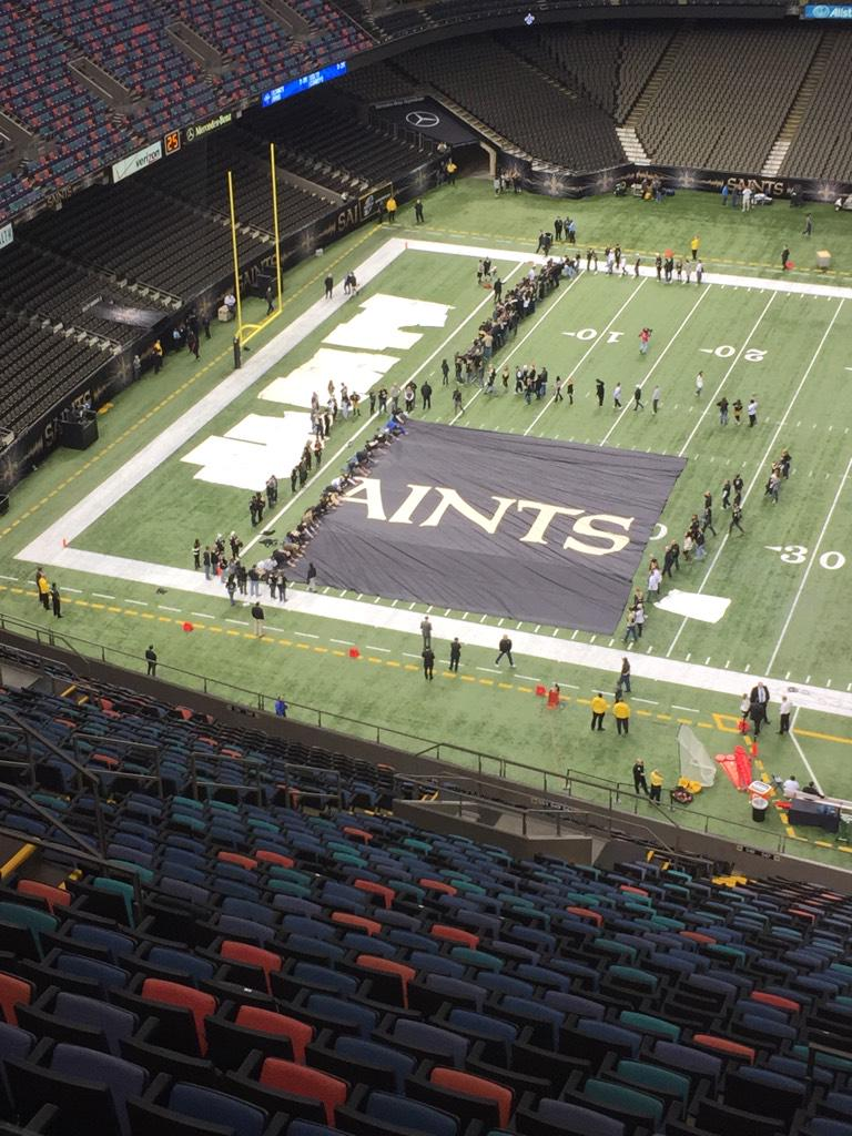 #TBT When I went to the Superdome last year. #RiseUp http://t.co/zlI41OtCXL