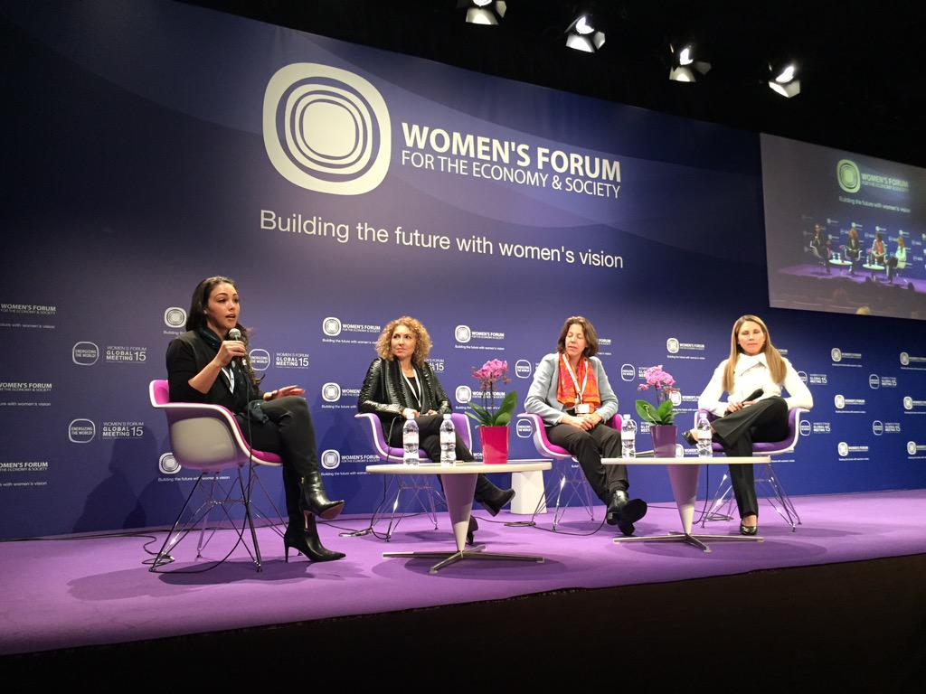 """Inventing the Future of Space"" panel at #WF15 - in awe of all these inspiring women!"