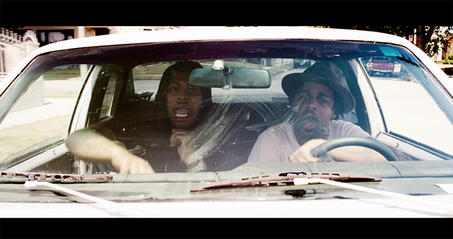 Have y'all seen @AziziGibson 's new video with @WakaFlocka ?? Shit's muy fuego. http://t.co/qnbdznejy8 http://t.co/nd1v0VrIT1