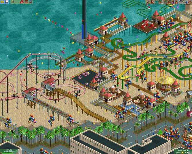 Happy Birthday to RollerCoaster Tycoon 2, released in North America on this day in 2002! http://t.co/etDspXy9nq