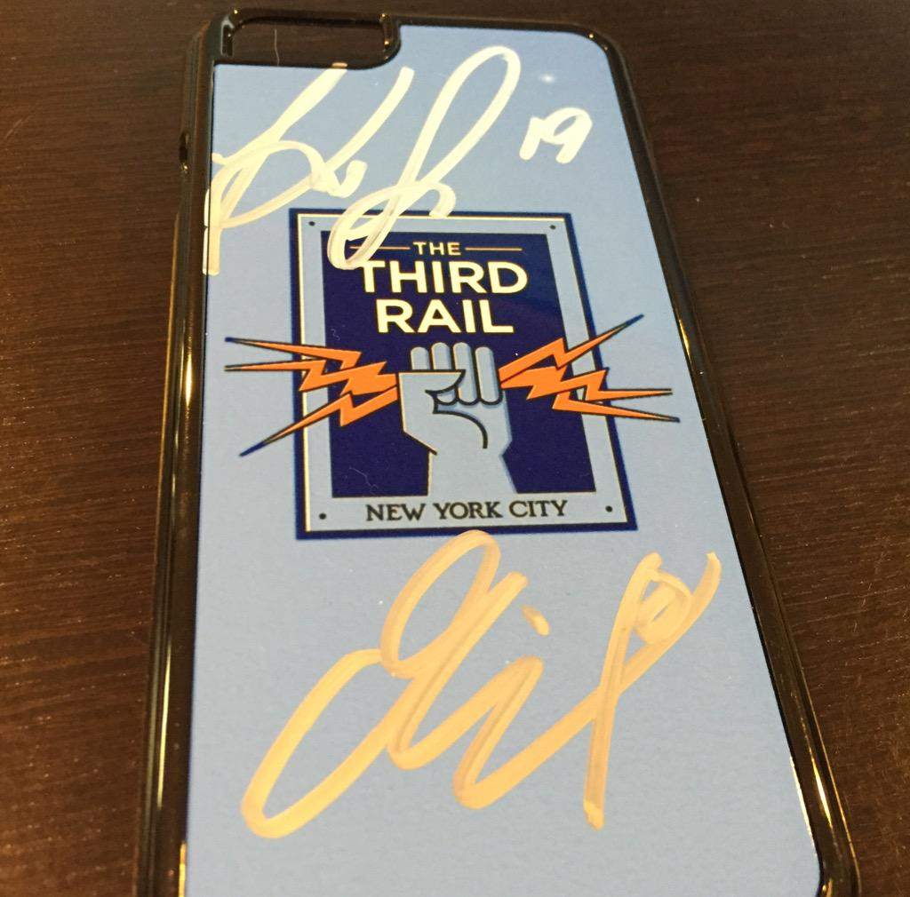 GIVEAWAY!  Follow & RT to win an iPhone 6 case signed by @MixDiskerud & @khiryshelton14. Winner announced tomorrow! http://t.co/fFa0nM9eMm