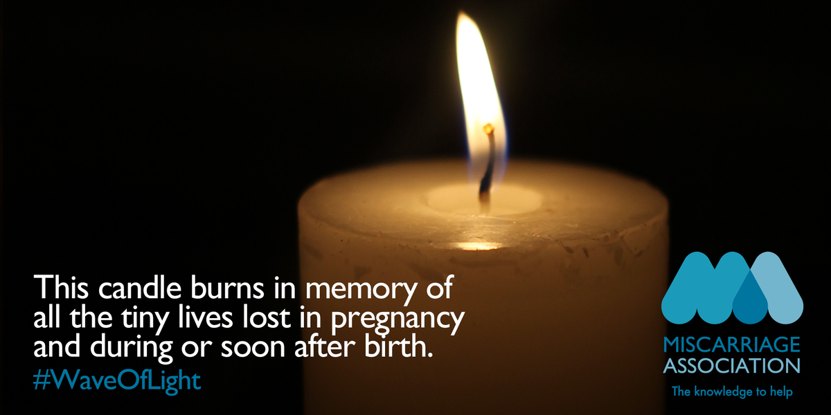 Thinking of you all. #WaveOfLight #babylossawarenessweek http://t.co/AQvqSZM9HA