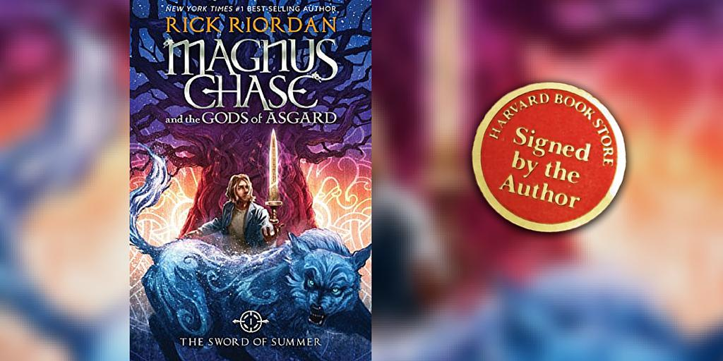 Want a SIGNED copy of @camphalfblood's #MagnusChase; we ship throughout U.S.! http://t.co/NqnqDh9u20 #RickRiordan http://t.co/GNnY1JPXVW