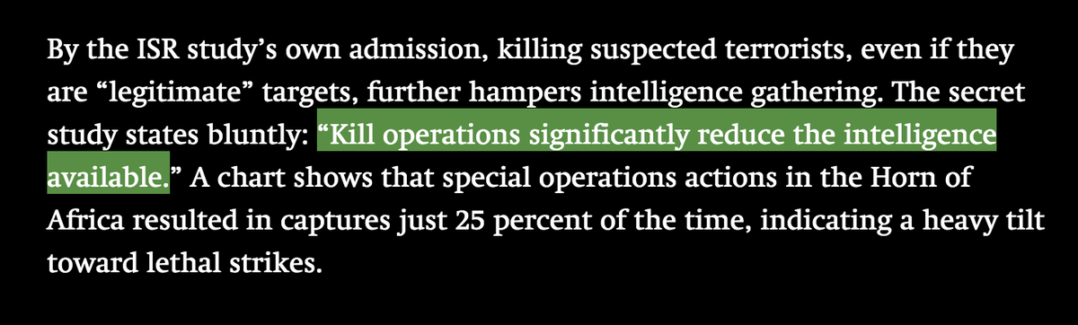 Big irony from @the_intercept's drone docs: death from above harms intelligence gathering http://t.co/HWWuQjU83F http://t.co/mD6R6Ri4FS