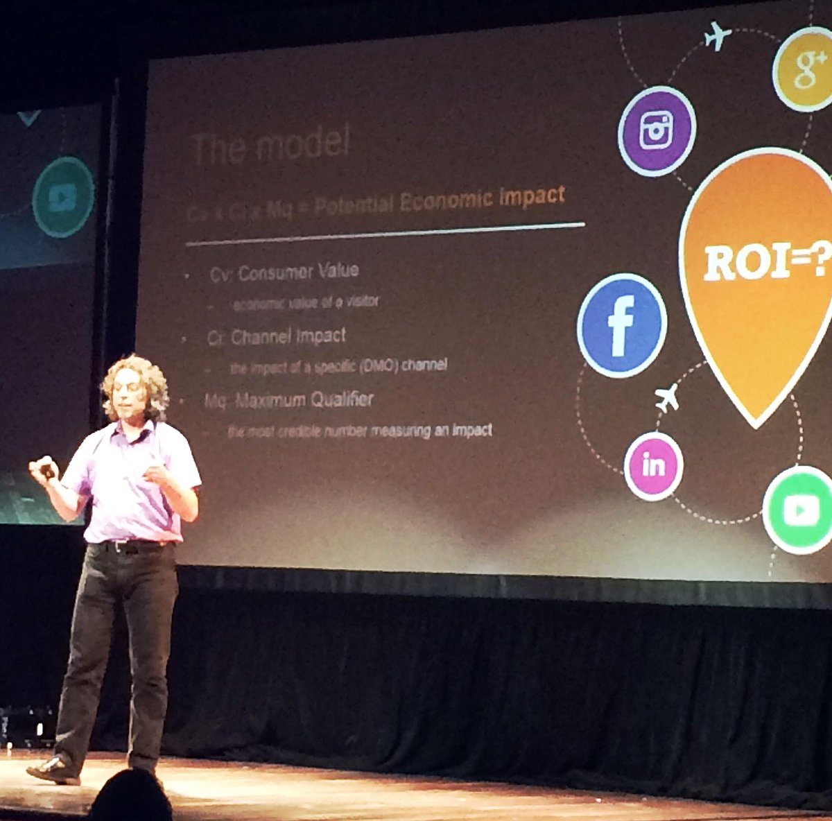 6 intl. DMOs came up with a new model to measure ROI of social. Here is the model, via @wilhelmus #SoMeT15US http://t.co/7XNF6GrF0n