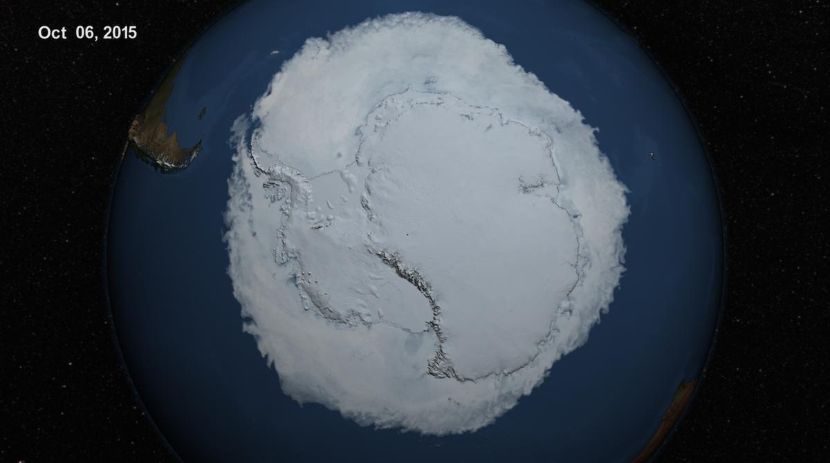 2015 Antarctic Maximum Sea Ice Extent Breaks Streak of Record Highs http://t.co/tGTTrJHXq3 http://t.co/umDRmJJjHC