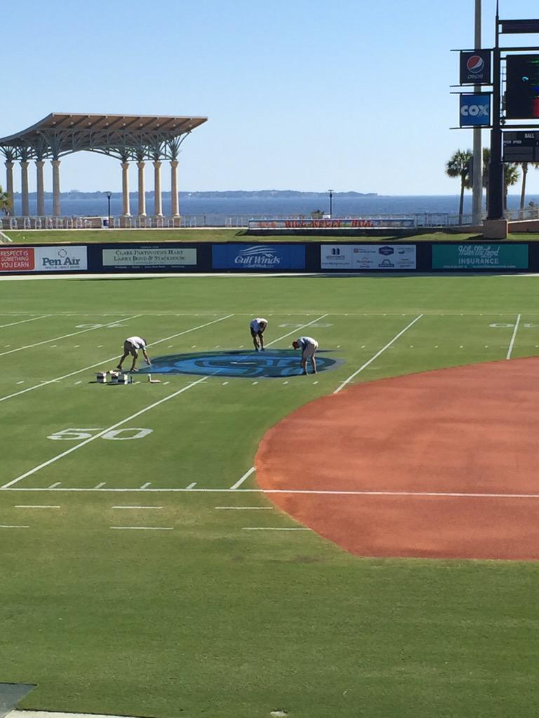 Here you guys go! How sweet is this? #WahoosLife #goargos @UWF @GoArgos http://t.co/aMojhyBqOS