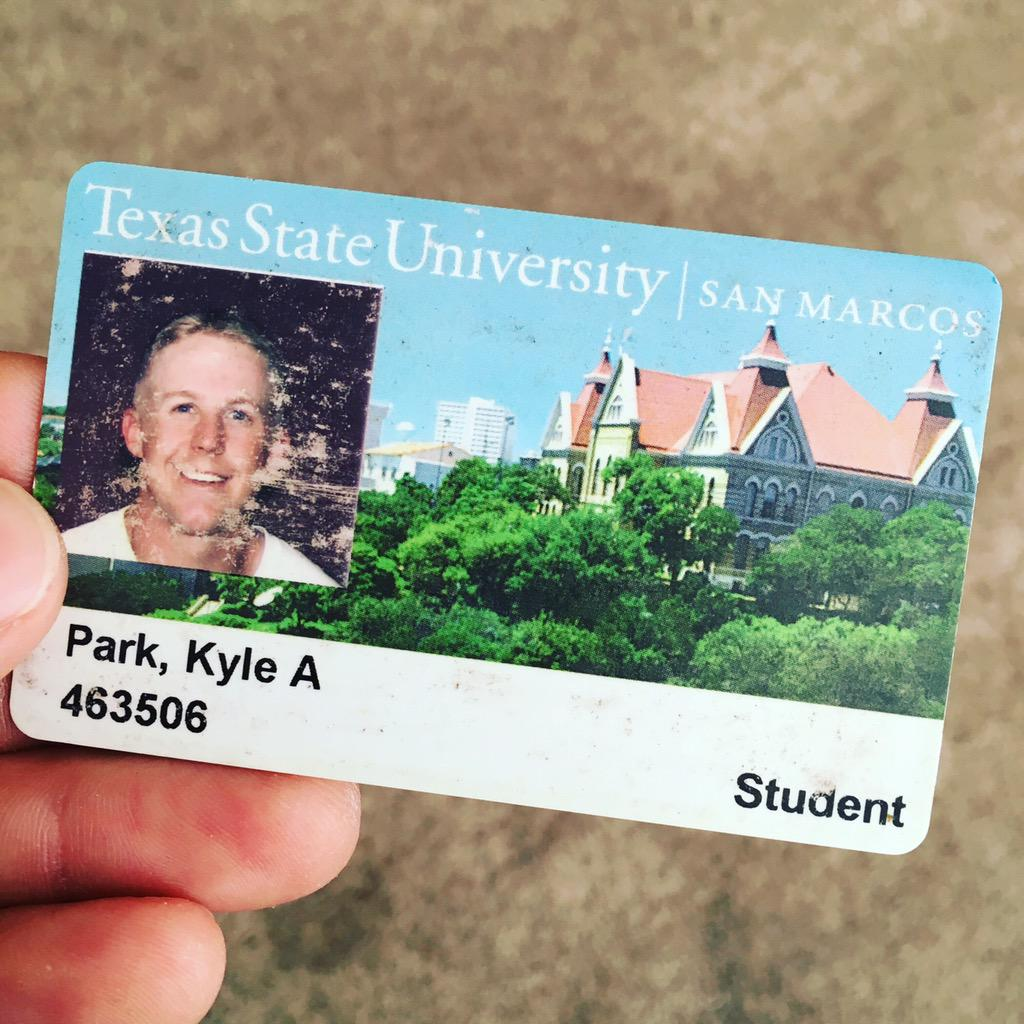 #tbt Do you still have your old student ID? #txstate #eatemup http://t.co/DbyV9I3w3m