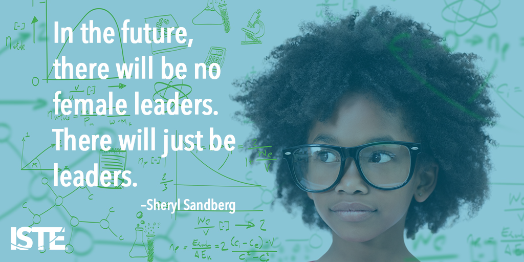 Inspire girls to become leaders. Narrow the gender divide in STEM by starting early http://t.co/MdKINoPG7T #STEMchat http://t.co/PHNATBzsZv