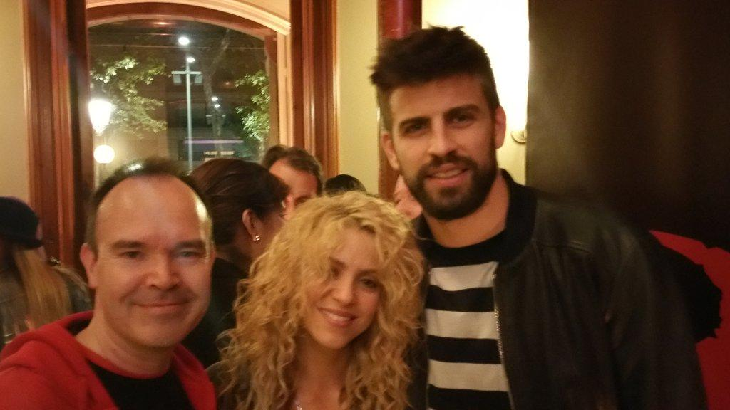 Fantastic launch of the the first #loverocks game with @shakira and @3gerardpique in beautiful Barcelona http://t.co/PF1zx627vv