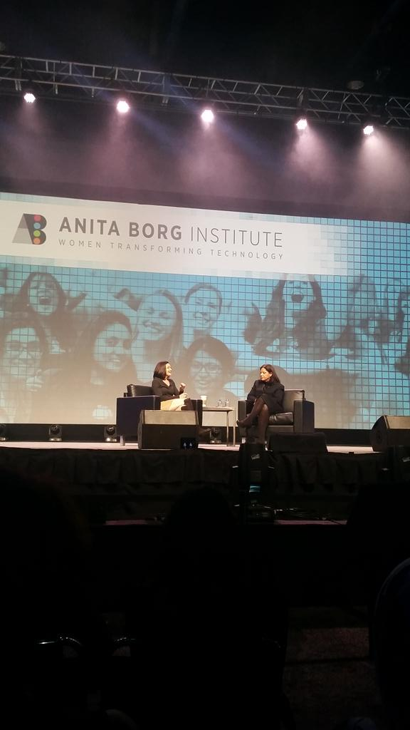 Advice from @sherylsandberg to #GHC15: Stay in tech, stay on the tech side of tech. These are the best jobs! @ghc http://t.co/RNtRqnqFIR