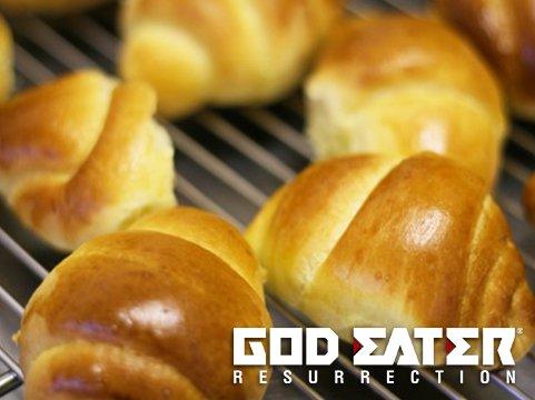 胃が痛いので軽めにパンで