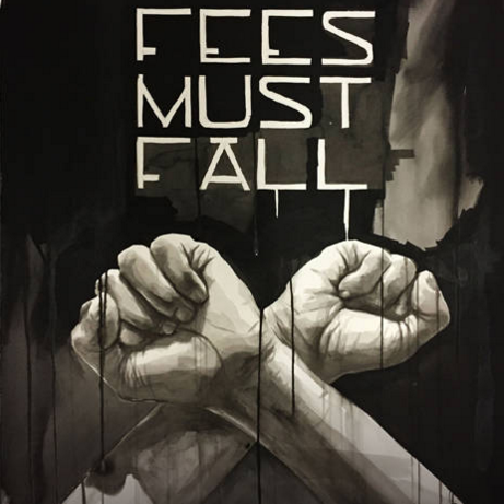 High-res #FeesMustFall poster by renowned street artist, Faith47 available for download. https://t.co/bwllnCmUly https://t.co/oswvbRkfz7