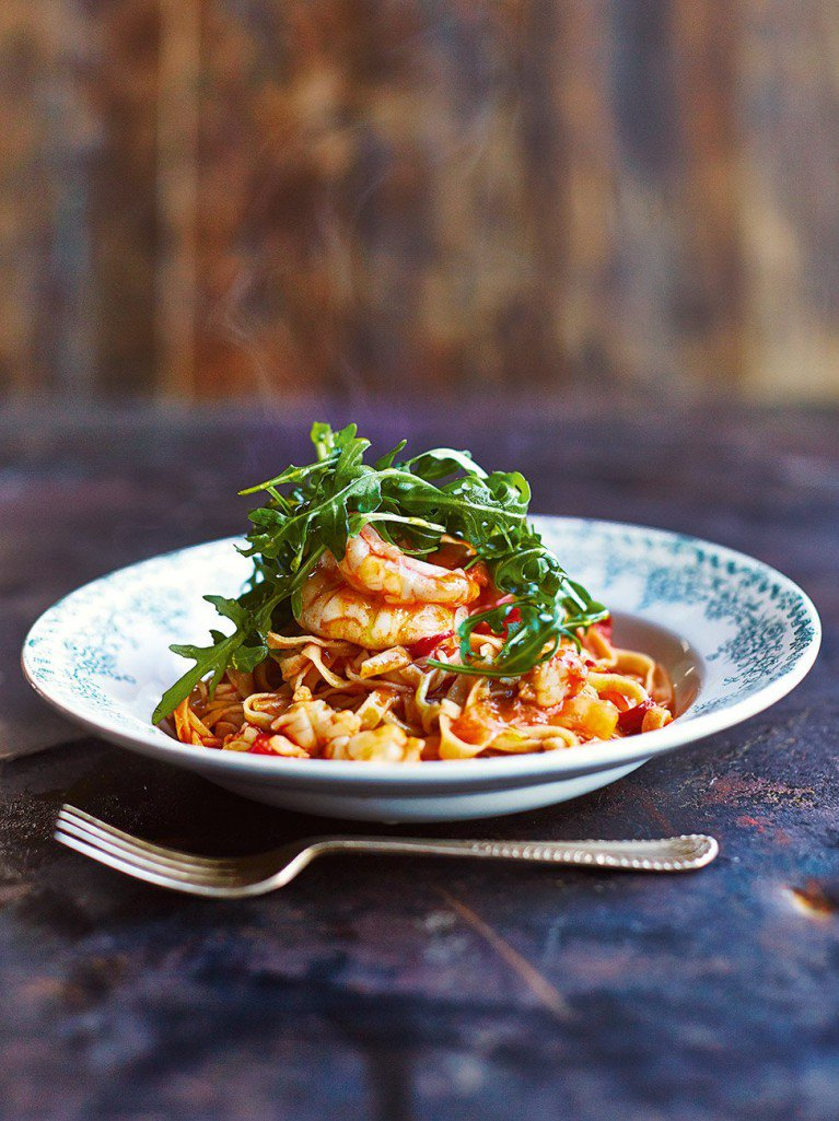 Today is #WorldPastaDay so #recipeoftheday had to be this beautiful prawn linguine https://t.co/Cfb0D1ieXF https://t.co/X3wTMydj39