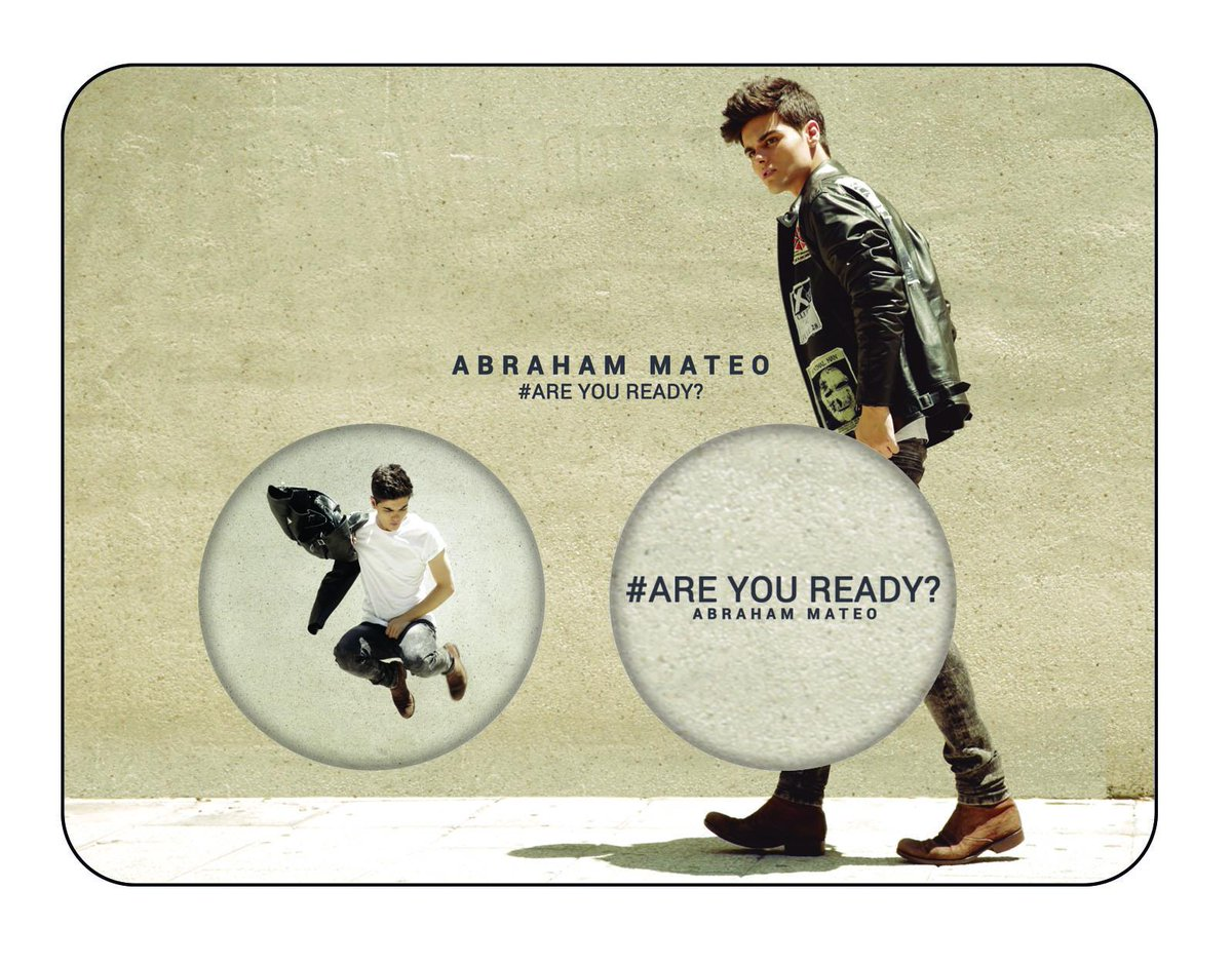 Mamy to! Poznajcie tytuł i okładkę najnowszego singla od @abrahammateomus! #areyouready #AbrahamMatteo http://t.co/sYpZ0fmOii