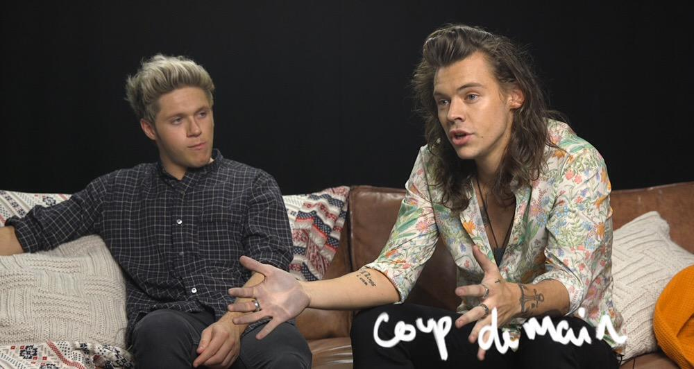 It's coming... (no, we don't know why Harry's hand is dirty...) ✨ interview up tomorrow! ⏰ http://t.co/xg55olFJJU