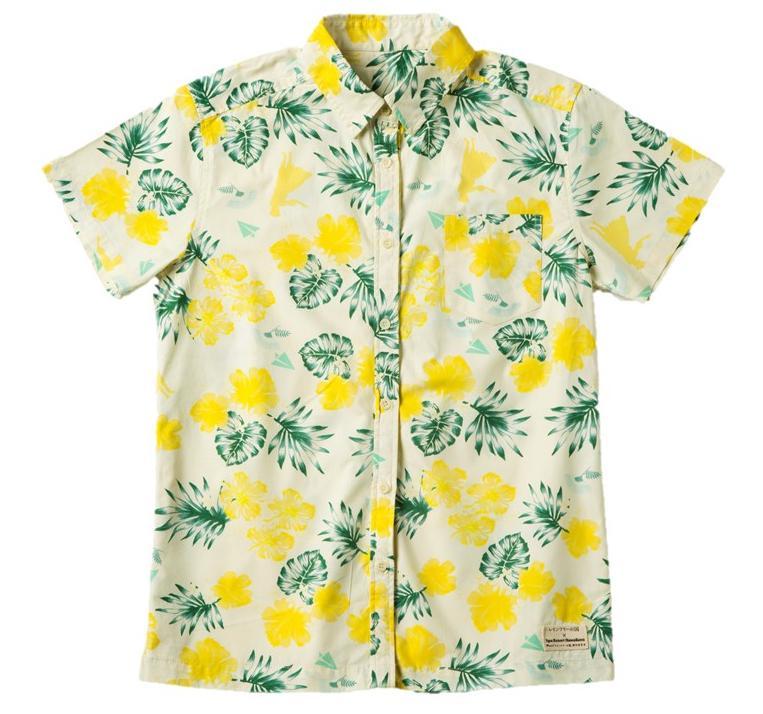 映画「レインツリーの国」とハワイアンズの限定コラボデザインのアロハシャツはこちらです。今回のキャンペーンの広告ビジュアルの撮影で玉森裕太さんが着用したアロハシャツと同じデザインです。 http://t.co/yO7VrvaYMh