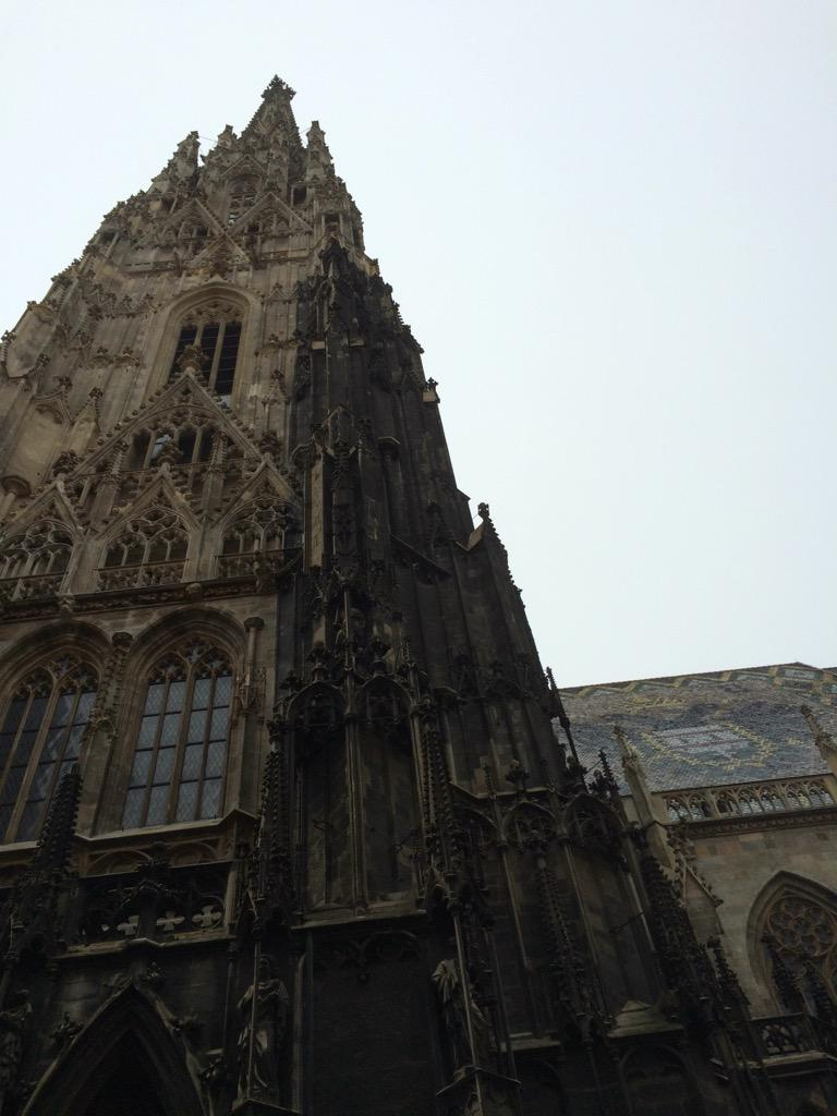 St Stephan's Dom in Vienna. Gorgeous! @InghamsHolidays @Austria_UK http://t.co/ehcND0hm2U
