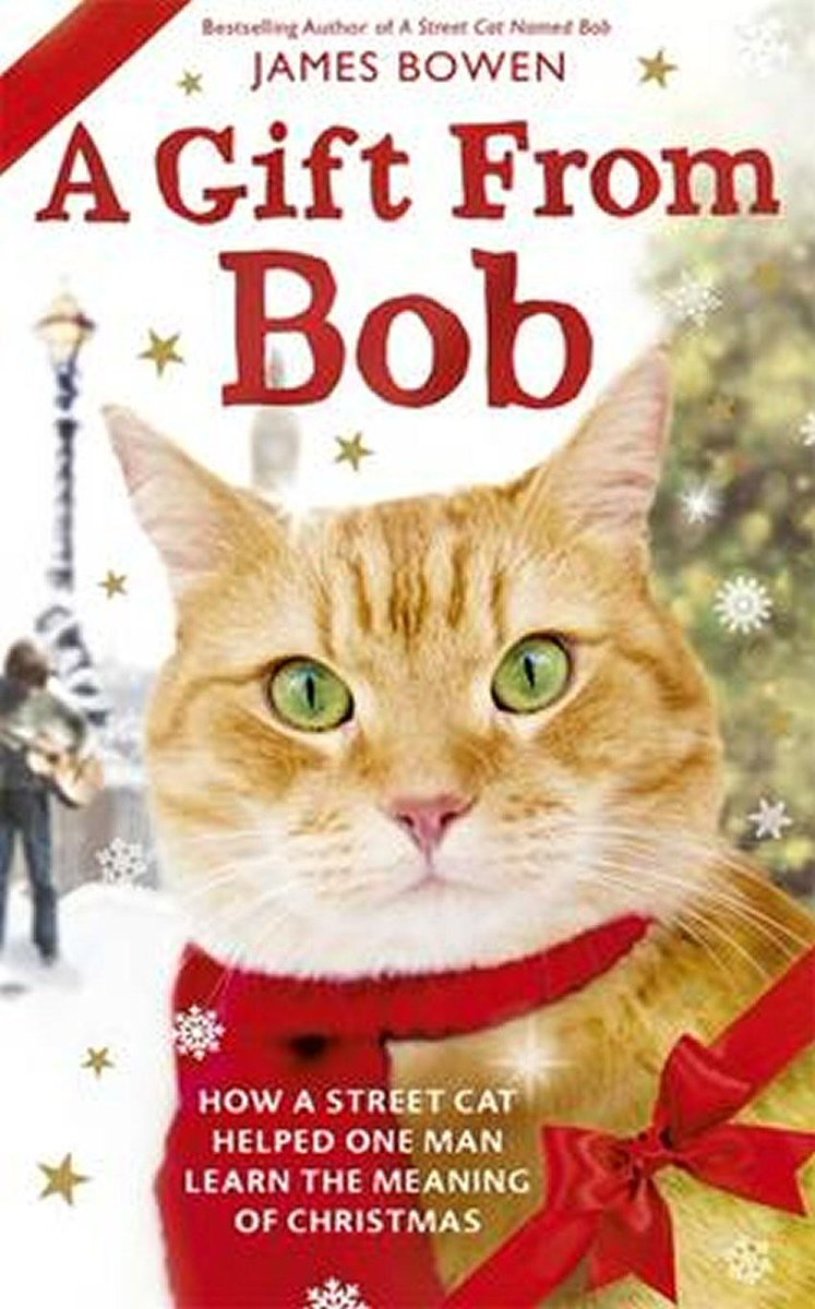 #Review and #Giveaway: A Gift from Bob by @StreetCatBob http://t.co/CUtl7Ngk8M http://t.co/3hht5WOmYU