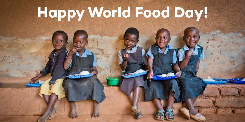 Happy #WorldFoodDay! Over ONE MILLION children receive a daily meal in school thanks to your wonderful support! http://t.co/y904A4DRN8