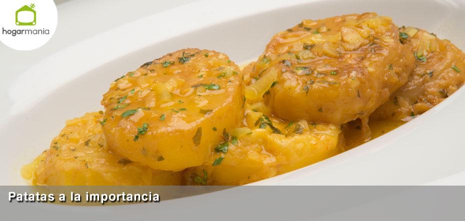 Recetas Cocina Karlos Arguiñano | Receta De Patatas A La Importancia Por Karlos Arguinano