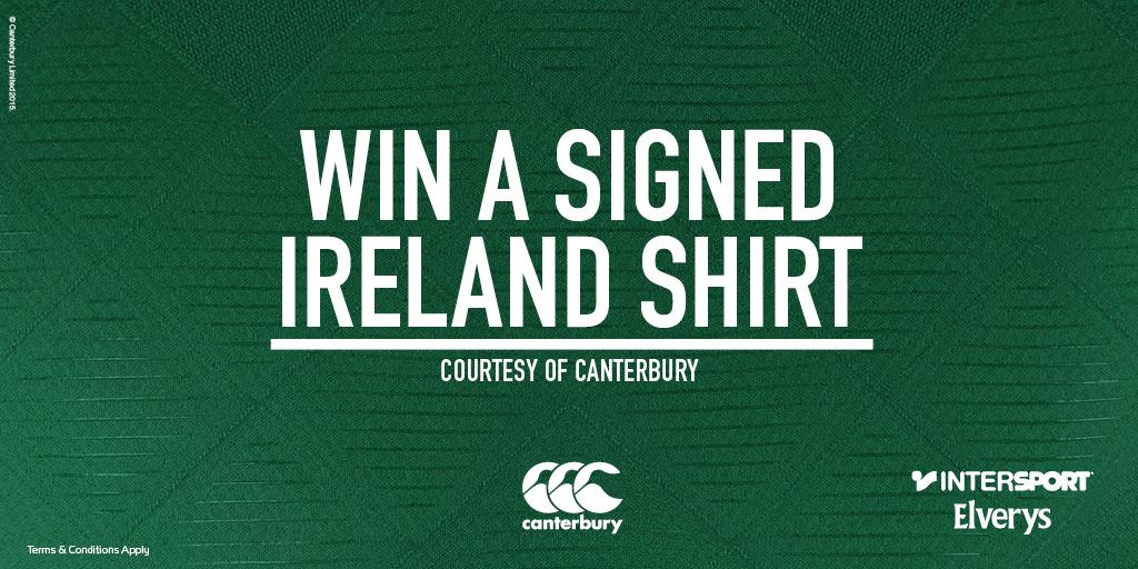 Win an Irish Shirt signed by the entire RWC squad! Just RT for your chance to win! @Canterburynz #CommittedToIreland http://t.co/tU5blXnetK