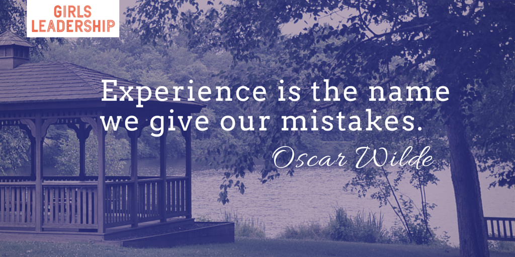 Experience is the name we give our mistakes. -Oscar Wilde http://t.co/G907jxS81x