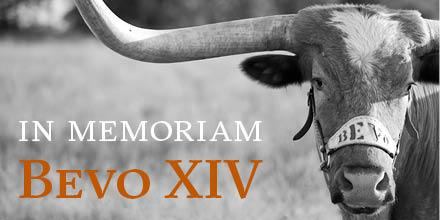 May you rest in peace, @Bevo_XIV. Thanks for the memories, and your legacy will reign on: http://t.co/I4kl795fKX http://t.co/oGLt6qMnS4