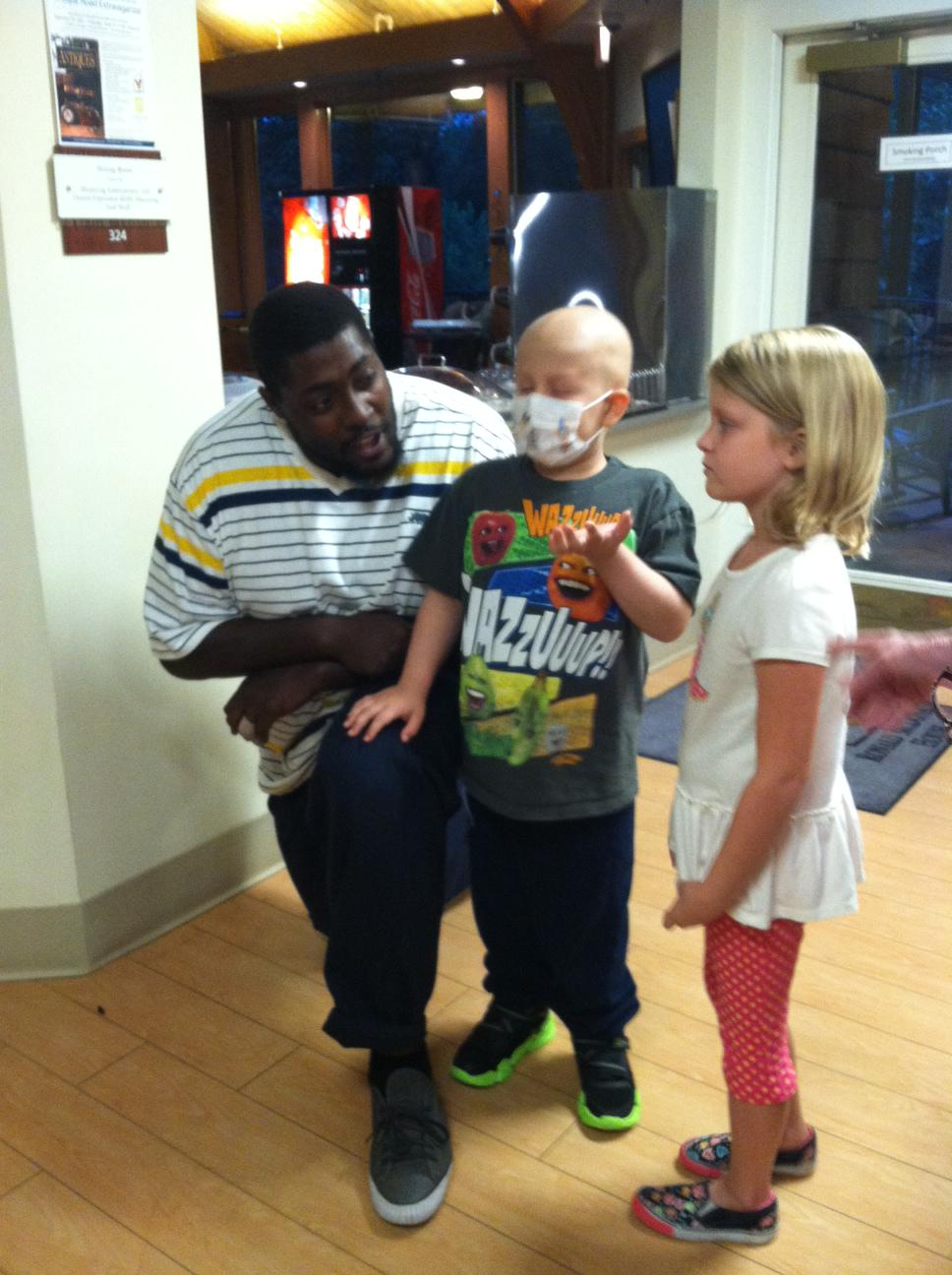 What makes a Ronald McDonald House so special? It creates a place where #HealingHappensTogether. Can't beat that! http://t.co/10G6oxypBP