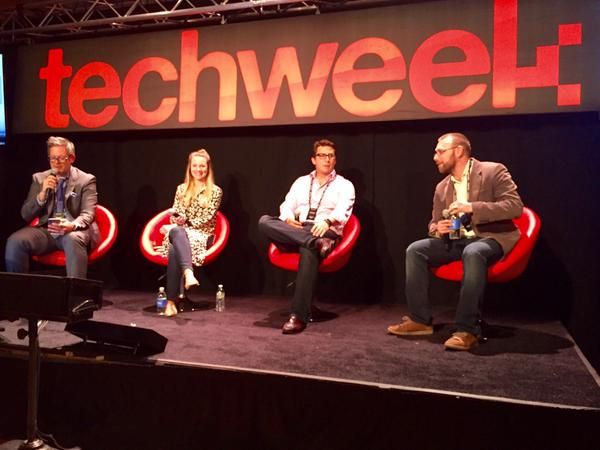 Bret led panel at #TechweekNYC re: technology impact on talent. Now off to #InfluenceHR and #HRTechConf in Vegas #HR http://t.co/sEiAxc0sCe