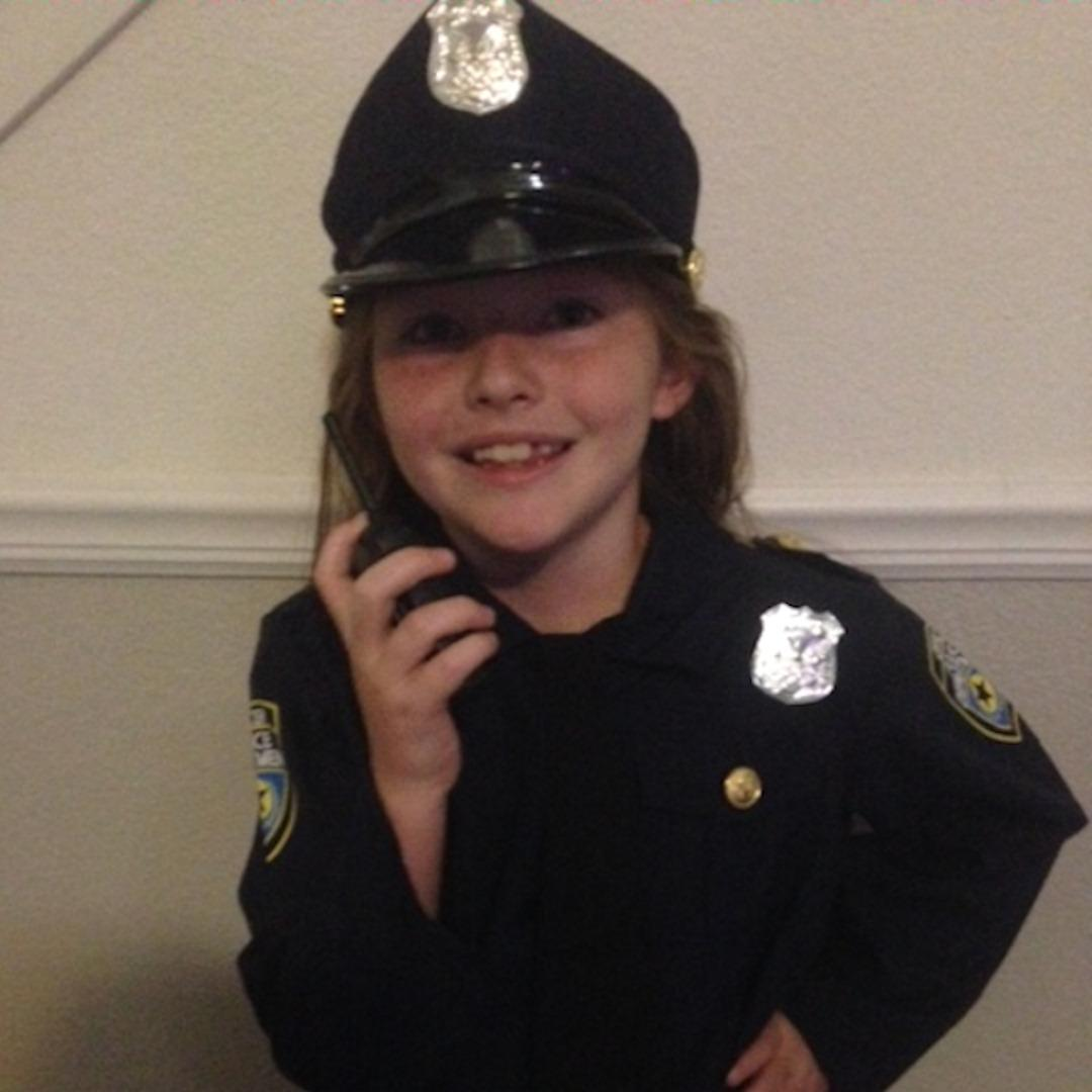 7-yr-old fresno girl asks party city why their girls cop #halloween