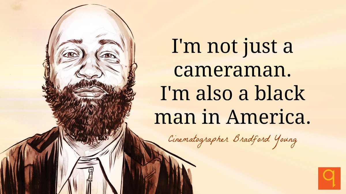 Selma cinematographer Bradford Young is challenging how people of colour are seen in films http://t.co/Ng2Ourcg0u http://t.co/mneJ2Gh1qT