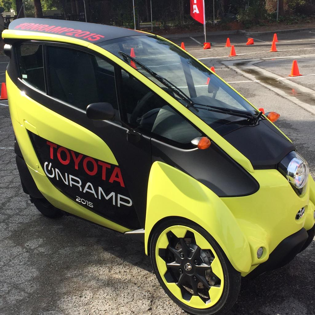 Toyota Onramp is at Hacker Dojo today and tomorrow! Come check it out! @onrampevents #toyotaonramp #toyota http://t.co/VlfS9fd2xg