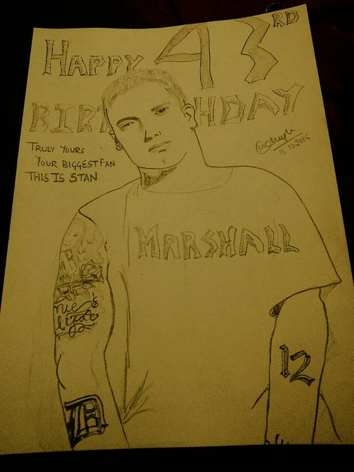 HAPPY 43rd BIRTHDAY My Idol I LOVE YOU  I hope u see this  Truly urs ur biggest fan this is Mokshi