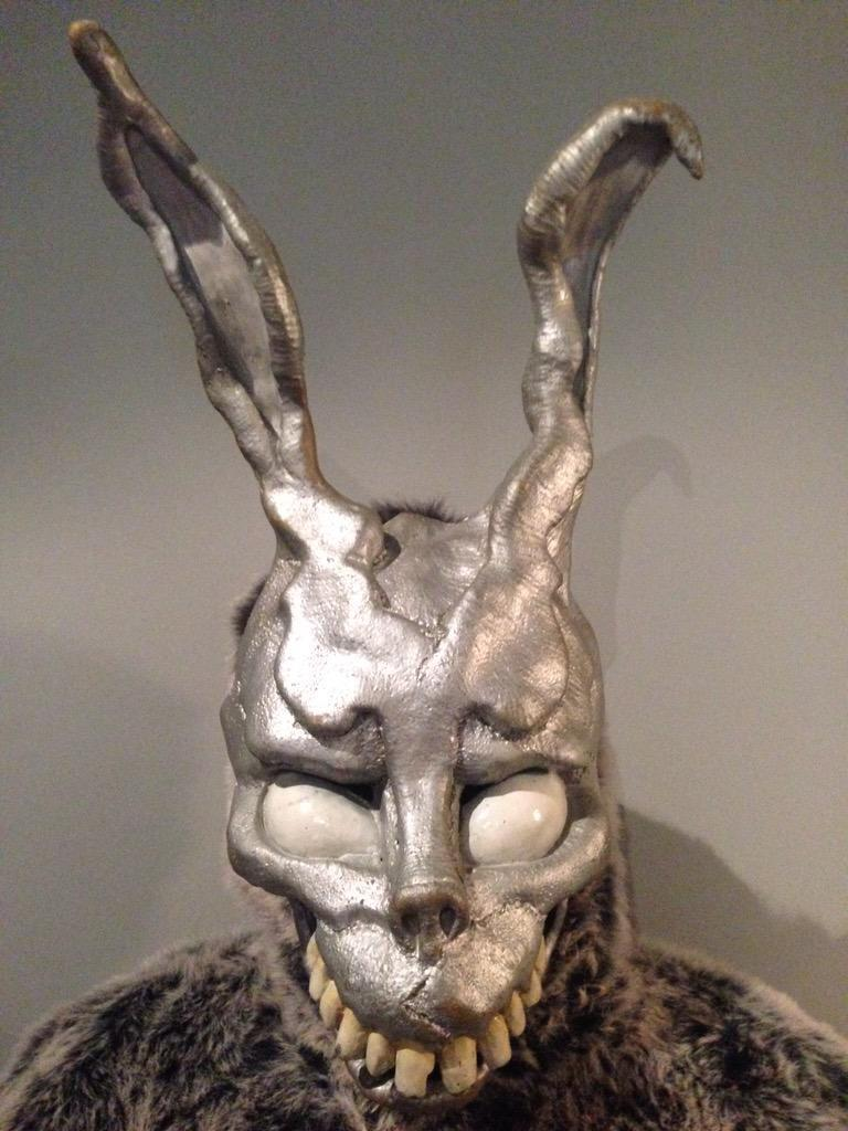 The original rabbit suit we used in the film has been found. Thanks to @Jack_Morrissey for keeping it safe. http://t.co/5ysAXb9Zkr