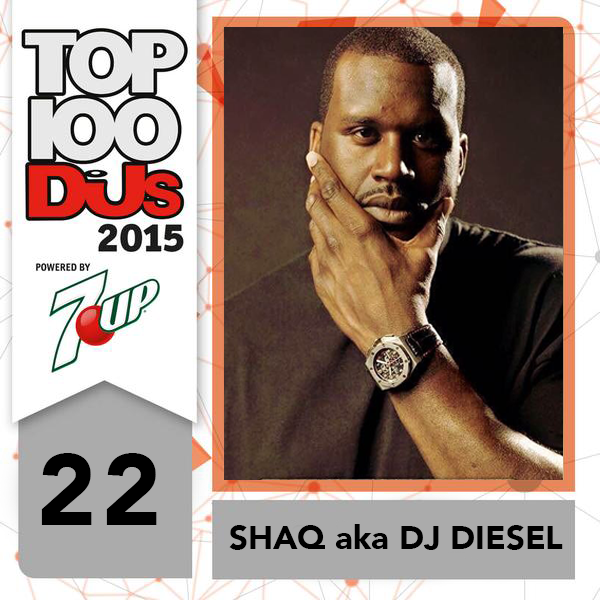 WOO CONGRATS!!!! RT @DJmag: After his FIRST performance ever as a DJ, #22 in the #DJMAG goes to @SHAQ aka DJ Diesel! http://t.co/7JdSnqTaWx