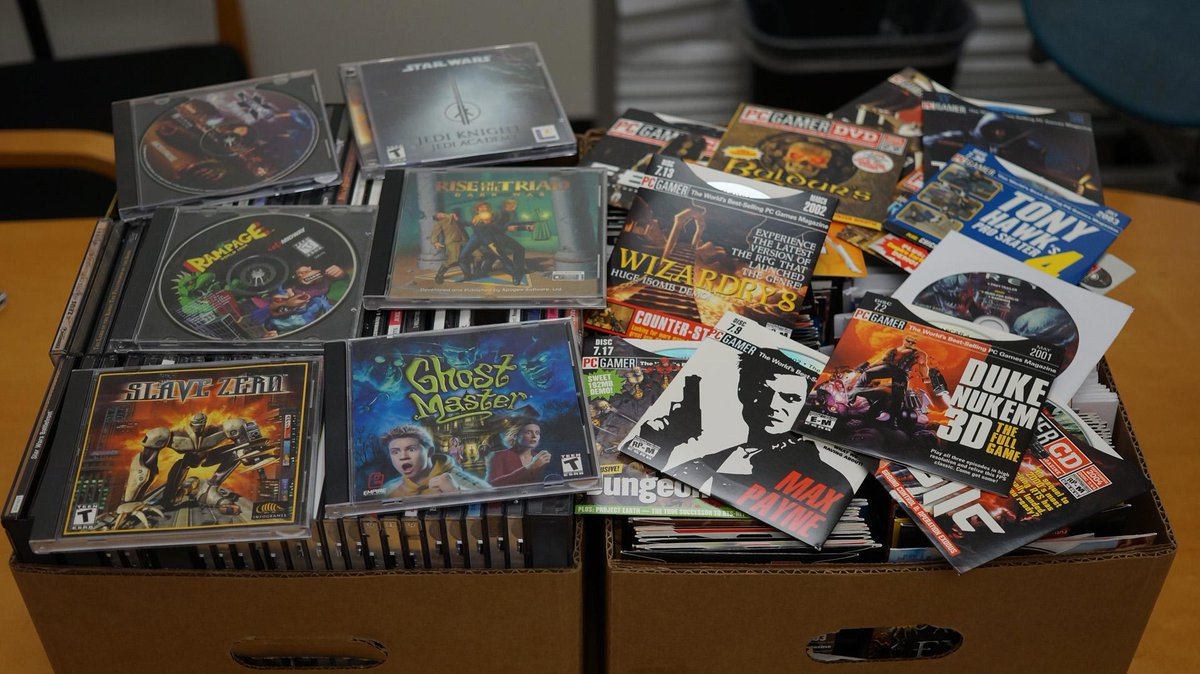 We're giving away tons of classic PCG demo discs and old games! RT for a chance to win! http://t.co/gpSIeM7Zmm http://t.co/VVaUPYdND3
