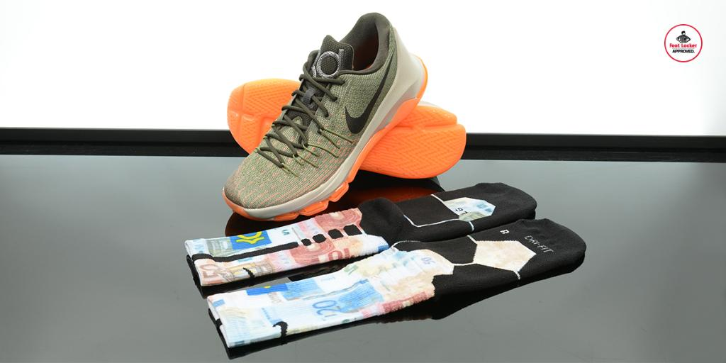 4e5252c137ea The  Nike KD 8 Collection  KD Easy Euro Hyper Elite Socks available in  stores