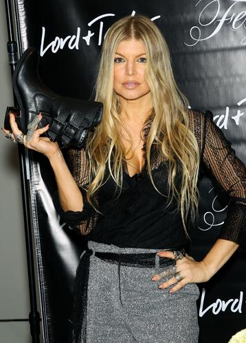 RT @AP_Fashion: Singer @Fergie launches her #footwear collection at #LordandTaylor (@lordandtaylor) in NYC. http://t.co/Y8qOfekKiS