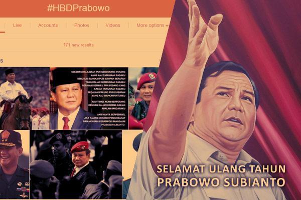 Prabowo Subianto Berulangtahun ke 64, #HBDPrabowo Jadi Trending Topic http://t.co/kOr4gia4av @prabowo http://t.co/ugz6VGyBnv