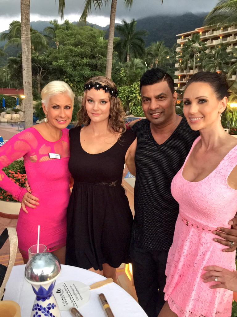 Me, my beautiful wifey & handsome Sean & the breathtaking Claudia here in #PuertoVallarta #Loyalty