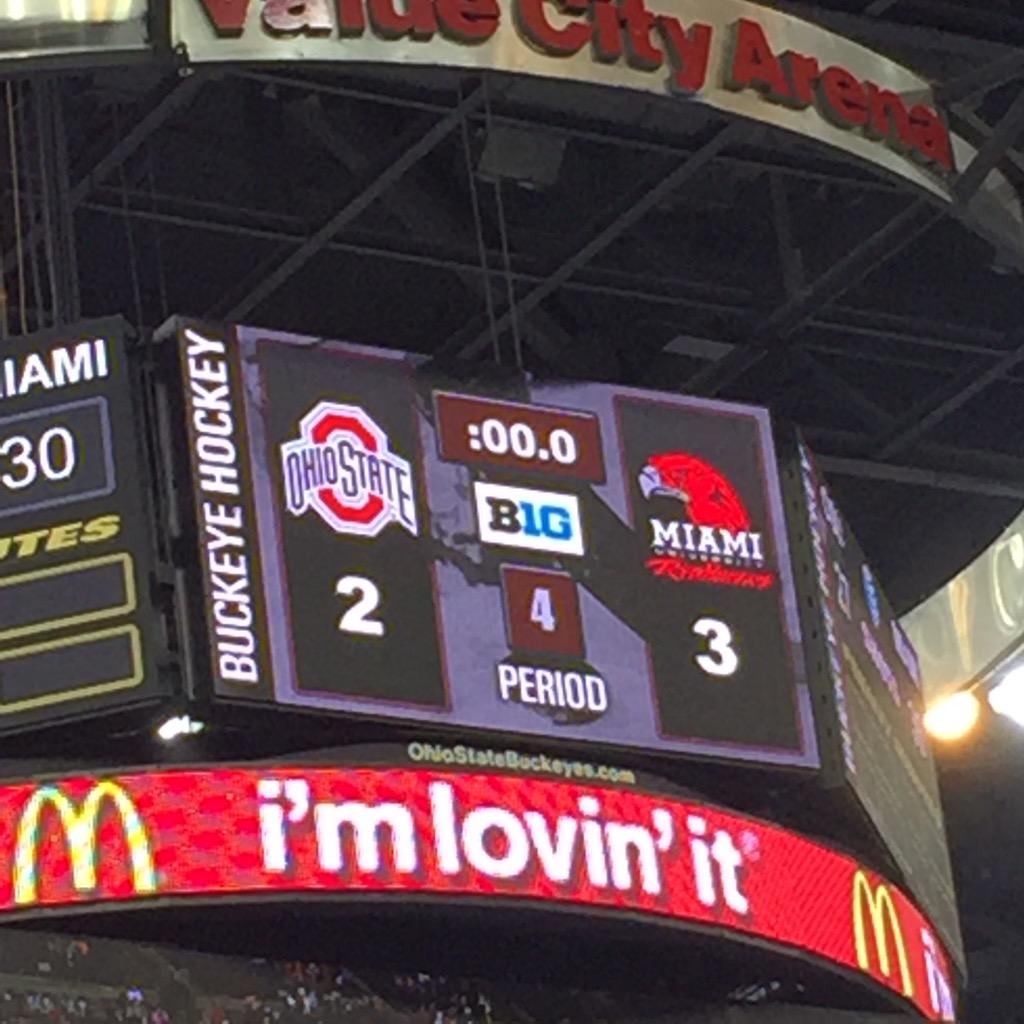 A win for @MiamiOH_Hockey! #MiamiOH #LoveAndHonor @MiamiUniversity http://t.co/VfNiFtch4l