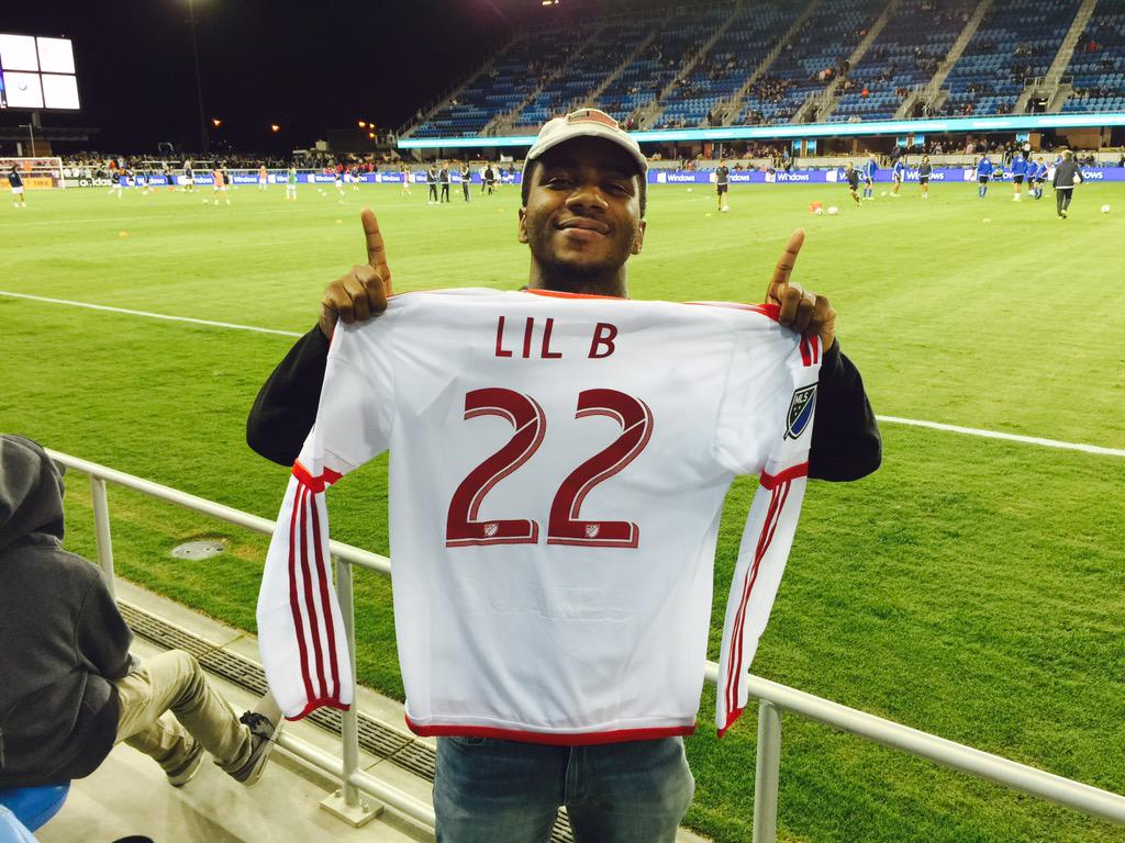 Welcome to @AvayaStadium, @LILBTHEBASEDGOD! #PlayoffPush http://t.co/xbBVshPzMx