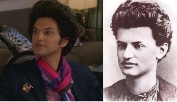 Apparently I missed that there are comparison images of Young Trotsky and Jean Ralphio http://t.co/wjirRckBYY