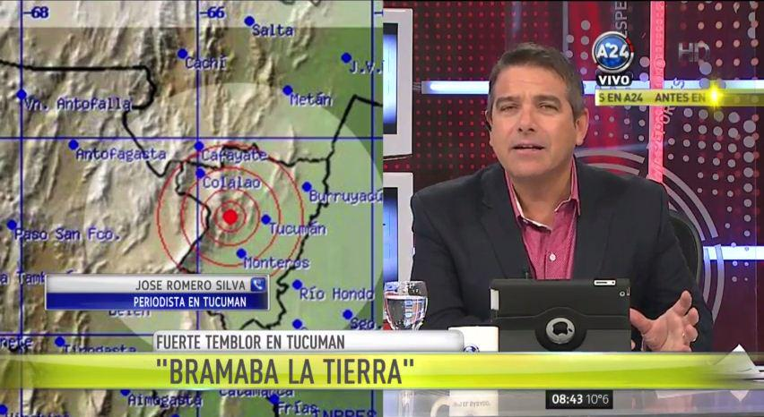 URGENTE | Temblor en Salta Magnitud: 5,9. Profundidad: 10 km. Epicentro: 123 km al SE de Salta. 151 km al E de Metán http://t.co/kP4T7lNT4X