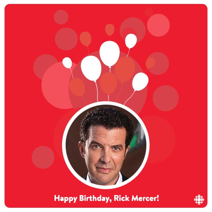 Retweet to wish @rickmercer a Happy Birthday!