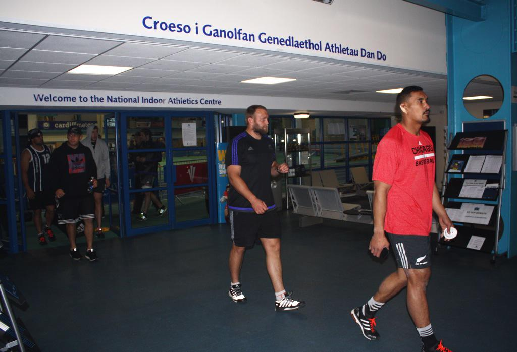 Good luck to @AllBlacks tonight - a pleasure to have you train in NIAC on our Cyncoed campus today! #RWC2015 http://t.co/c3jyeSgyLG